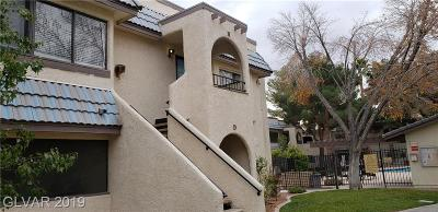 Las Vegas Condo/Townhouse For Sale: 1404 Santa Margarita Street #H