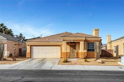 Las Vegas Single Family Home For Sale: 3305 Hillingdon Court