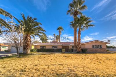Las Vegas Single Family Home For Sale: 521 Park Way West