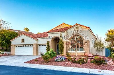 Las Vegas Single Family Home For Sale: 8516 Estrelita Drive