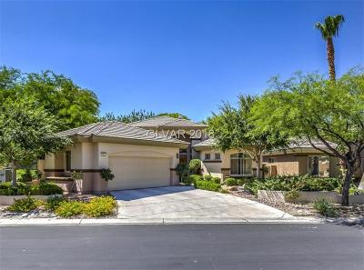 Las Vegas Single Family Home For Sale: 521 Summer Mesa Drive