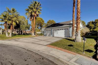Las Vegas Single Family Home For Sale: 3200 Compass Point Circle