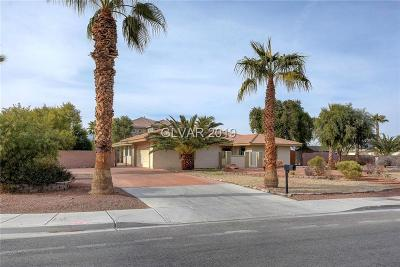 Las Vegas Single Family Home For Sale: 6520 Bradley Road