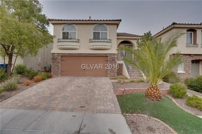Las Vegas Single Family Home For Sale: 6720 Lydian Court