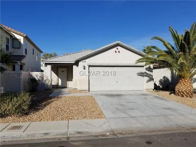 Las Vegas Single Family Home For Sale: 4223 Walnut Glen Drive