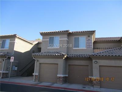 North Las Vegas Condo/Townhouse For Sale: 6745 Caporetto Lane #101