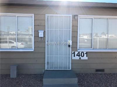 Las Vegas Rental For Rent: 1401 Casino Center Boulevard #A
