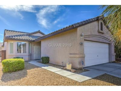 Las Vegas Single Family Home For Sale: 243 Gray Granite Avenue