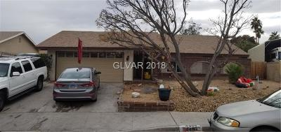 Las Vegas Single Family Home For Sale: 4493 Lomita Street