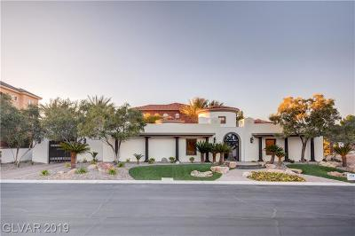 Henderson NV Single Family Home For Sale: $889,990