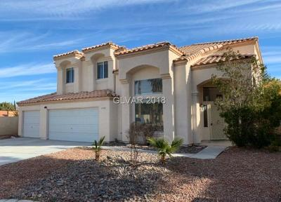 Las Vegas Single Family Home For Sale: 4708 English Ivy Court