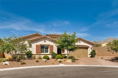 Las Vegas Single Family Home For Sale: 725 Porto Mio Way