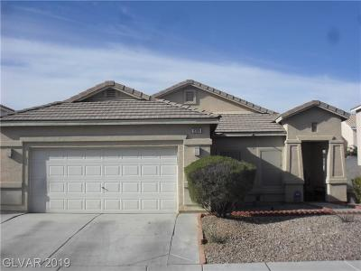 North Las Vegas Single Family Home For Sale: 5309 Coral Hills Street