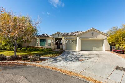 Las Vegas Single Family Home For Sale: 3457 Lupine Bush Court