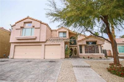 Las Vegas Single Family Home For Sale: 886 Centaur Avenue