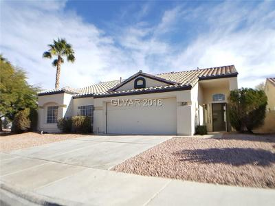 Las Vegas Single Family Home For Sale: 8050 Boardwalk Way
