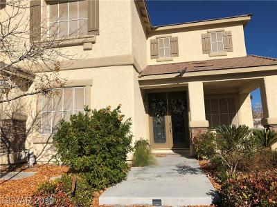 Las Vegas NV Single Family Home For Sale: $510,500