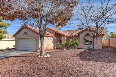 North Las Vegas Single Family Home For Sale: 4040 Rustic Oak Court