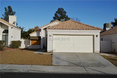 Las Vegas NV Single Family Home For Sale: $205,000