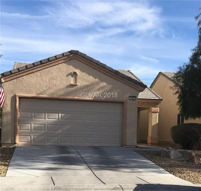 North Las Vegas Single Family Home Under Contract - Show: 7632 Lily Trotter Street