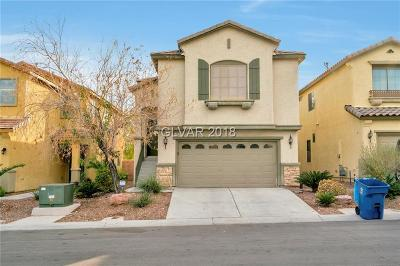 Las Vegas Single Family Home For Sale: 8505 Cheerful Brook Avenue