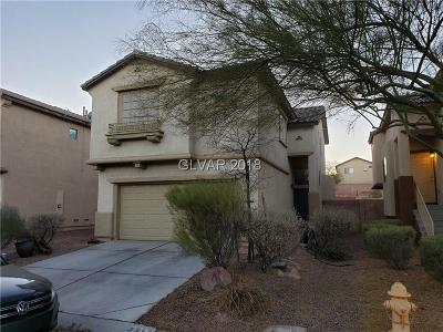 North Las Vegas Single Family Home For Sale: 3513 Lonesome Drum Street