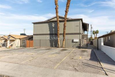 North Las Vegas Multi Family Home Under Contract - No Show: 1840 Harding Street