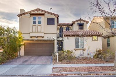 Las Vegas Single Family Home Under Contract - No Show: 7501 Crooked Branch Street