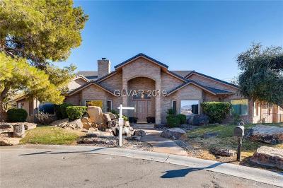 Las Vegas Single Family Home For Sale: 3320 Mustang Street