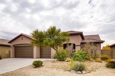 North Las Vegas Single Family Home For Sale: 3909 Fledgling Drive