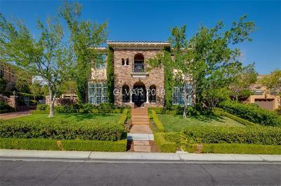 Las Vegas Single Family Home For Sale: 1516 Saintsbury Drive