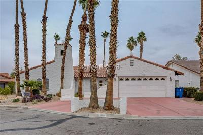 Las Vegas Single Family Home Under Contract - No Show: 4460 Sands Point Circle