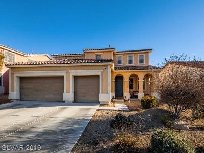 North Las Vegas Single Family Home For Sale: 1762 Bluff Hollow Place
