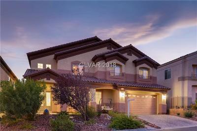 Las Vegas Single Family Home For Sale: 9457 Wakashan Avenue