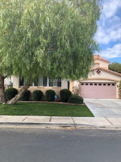Henderson Single Family Home For Sale: 1521 Ravanusa Drive