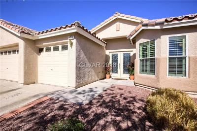 North Las Vegas Single Family Home Under Contract - No Show: 3716 Razorbill Court