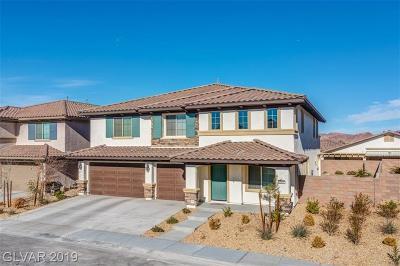 Henderson Single Family Home For Sale: 240 Punto Di Vista Drive