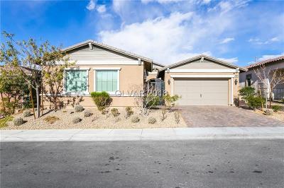 Henderson Single Family Home For Sale: 508 Heritage Bridge Avenue