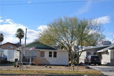 Boulder City Single Family Home For Sale: 640 California Avenue