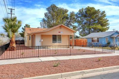 Boulder City Single Family Home For Sale: 603 F Avenue