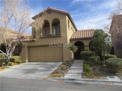 Las Vegas, North Las Vegas, Henderson Single Family Home For Sale: 564 Ivy Spring Street