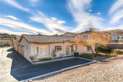 Boulder City Condo/Townhouse For Sale: 256 Big Horn Drive