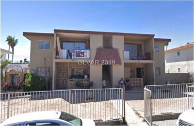las vegas Multi Family Home For Sale: 521 Kolson Circle