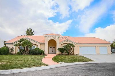 Single Family Home For Sale: 1321 Casa Del Rey Court