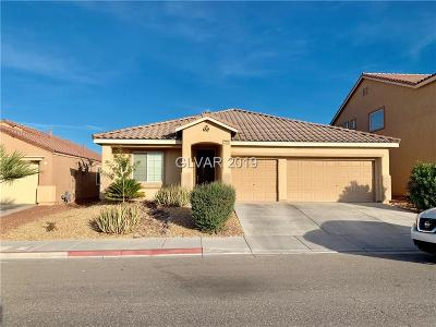 North Las Vegas Single Family Home For Sale: 3828 Goldfield Street