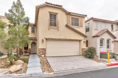 Blue Diamond, Boulder City, Henderson, Las Vegas, North Las Vegas, Pahrump Single Family Home For Sale: 4993 Vacaville Avenue