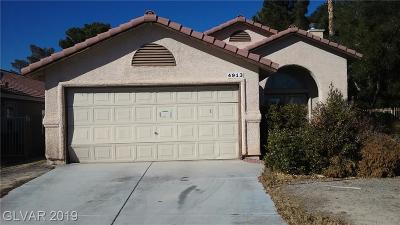 Las Vegas NV Single Family Home For Sale: $225,000