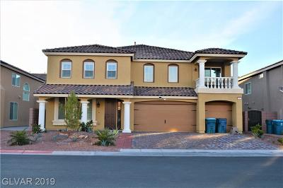 Las Vegas  Single Family Home For Sale: 8563 Alpine Vineyards Court