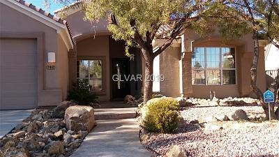Henderson Single Family Home For Sale: 2002 Bobtail Circle