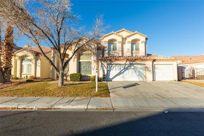 Blue Diamond, Boulder City, Henderson, Las Vegas, North Las Vegas, Pahrump Single Family Home For Sale: 4916 Crimson Glory Lane